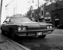 (JohannesM) Tags: car buick stockholm trix 80mm mamiya7 torsgatan autaut autumn2010