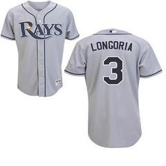 Tampa Bay Rays #3 Evan Longoria Grey Road Jersey (Terasa2008) Tags: jersey tampabayrays  cheapjerseyswholesale cheapmlbjerseys mlbjerseysfromchina mlbjerseysforsale cheaptampabayraysjerseys