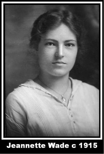 Jeannette Wade c 1915