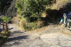 栃谷尾根の出入り口