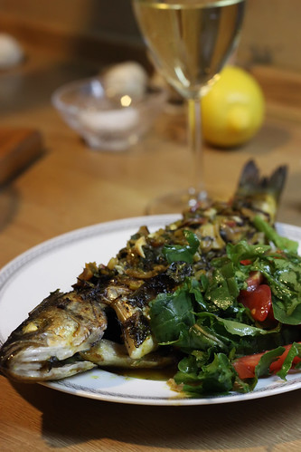 Sea Bass in Chermoula