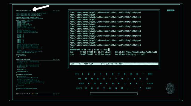Encom Linux Console ¡Niceeee!