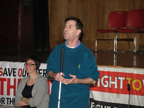 Roger Lewis (Disabled People Against Cuts) : P4058523