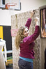 setting up! (Synopsis (Jessica Chung)) Tags: art painting photography lima photos drawing misc highschool gettingready hfl honeoyefalls cougarcreations