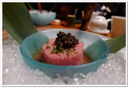 Otoro Tartare with Caviar