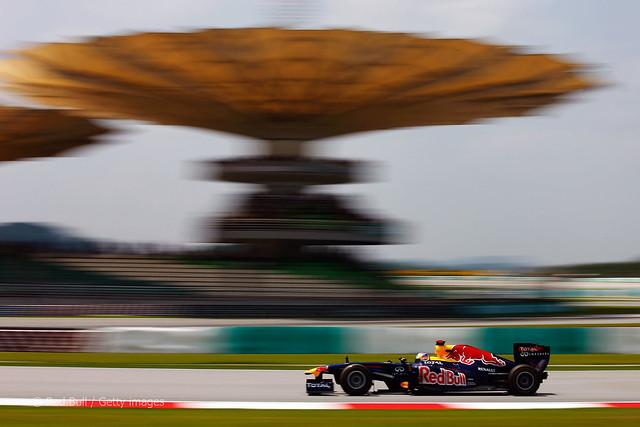 Sebastian Vettel Red Bull RB7 F1 Sepang