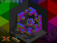 QBCUBE Screenshot - Level 13 - Fractal Freefall