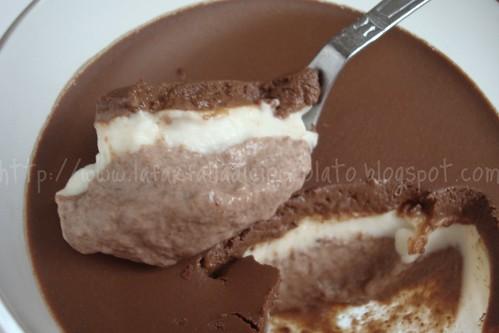 Panna cotta ai due cioccolati