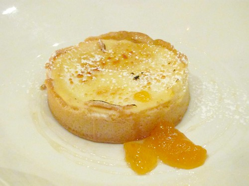 Goat Cheese Tart with Apricots