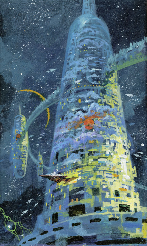 Paul Lehr - SF Book Cover