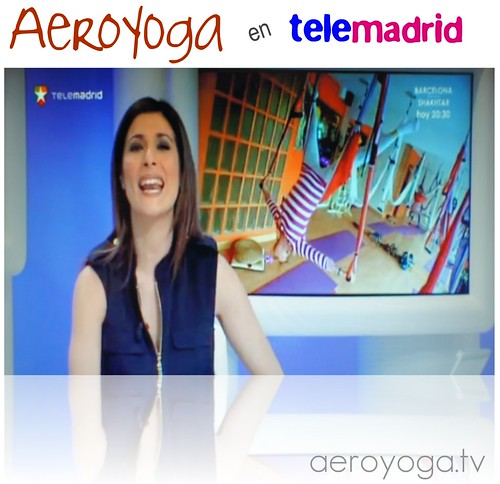 Yoga Swing (Aéreo) en Tele Madrid