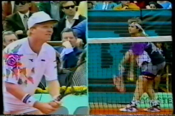 Jim Courier - Andre Agassi