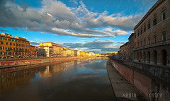 Pisa Reflection (N+C Photo) Tags: city travel italien vacation italy holiday reflection history tourism architecture clouds buildings river photography design casey nikon nadia europa europe mediterranean italia arte earth small photographers eu images structure adventure collection pisa explore viajes artists tuscany getty traveling fotografia toscana turismo vacaciones mundo cultura travelers gettyimages itali discover aventura tierra d300 expresin historico descubrimiento traveladventure urbansuburban gettyimagescom gettycollection mygearandme mygearandmepremium mygearandmebronze mygearandmesilver mygearandmegold mygearandmeplatinum ringexcellence dblringexcellence tplringexcellence artistoftheyearlevel4 cettycollection