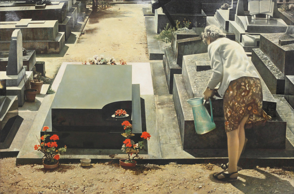 Jean Olivier Hucleux, Cemetery No. 5, 1972