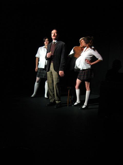 The evil girls demand to meet Mr. Cloots.