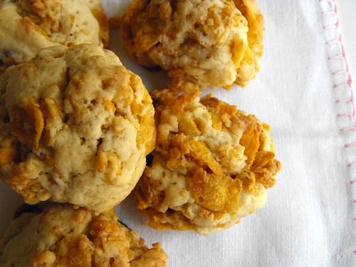 Biscoitos de corn flakes