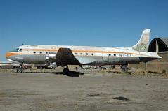685 La Paz 28-5-08 80 Faucett C54 (Proplinerman) Tags: aircraft douglas lapaz airliner elalto skymaster faucett dc4 c54 propliner obr463 pistonliner frireyes