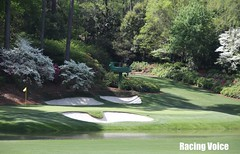 Amen Corner The Masters 2011 (The Racing Voice) Tags: golf pga golftournament themasters amencorner practicerounds augustagolfclub
