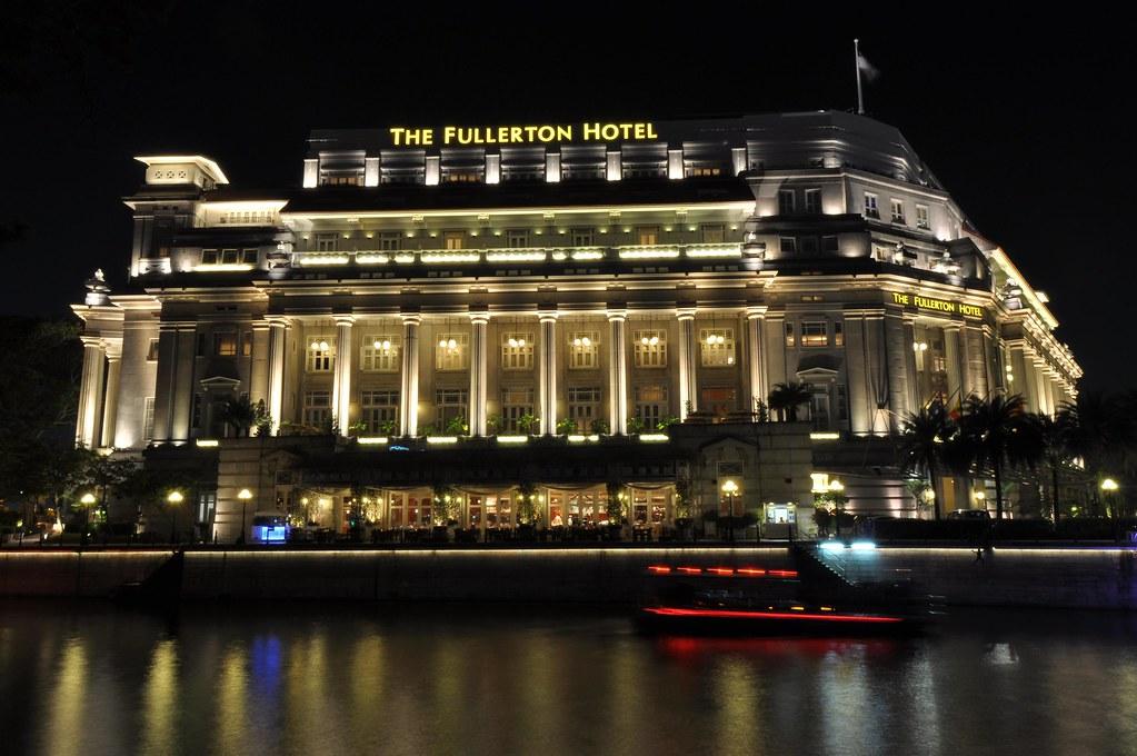 Fullerton Hotel, Singapore 富勒顿湾酒店 ...