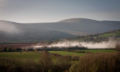 Cloud seeding the welsh way