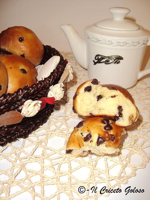 Panini con gocce di cioccolato 2