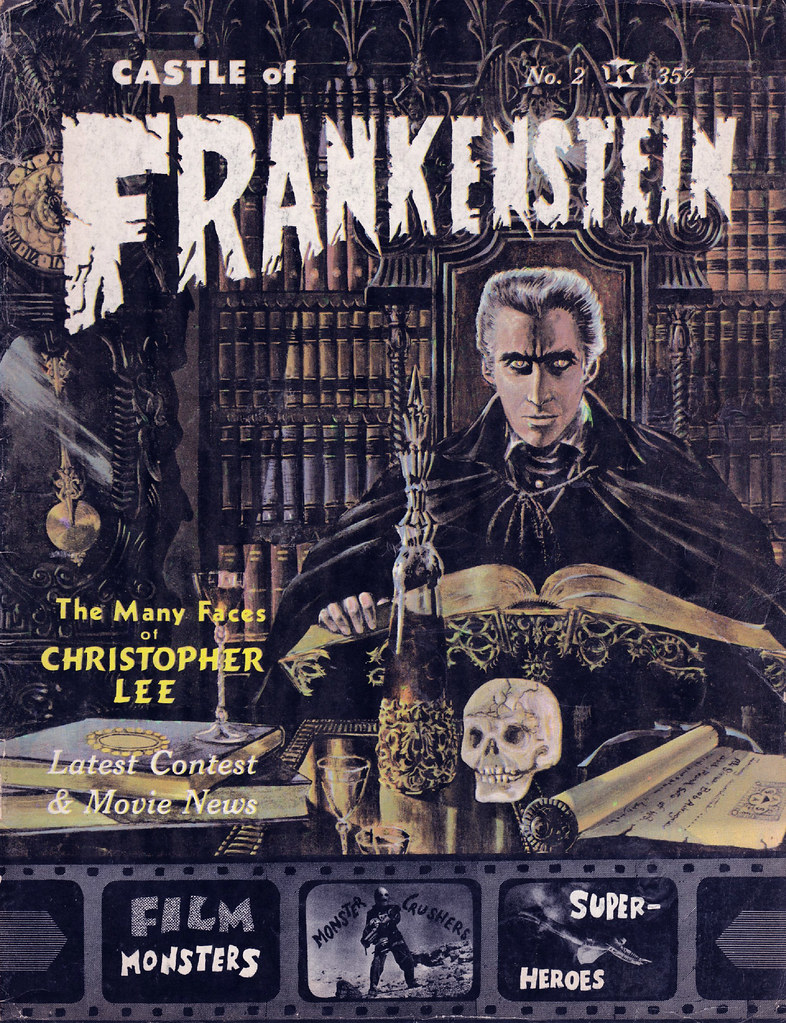 Castle Of Frankenstein, Issue 2 (1962) Cover by Robert Adragna