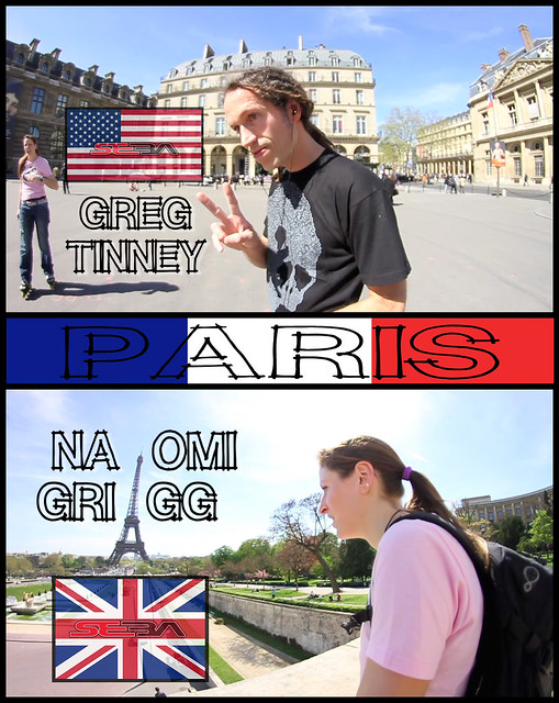 Greg Tinney and Naomi Grigg in Parisjpg