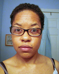 My new haircut (Lauren Powell-Smothers) Tags: woman haircut selfportrait self hair africanamerican