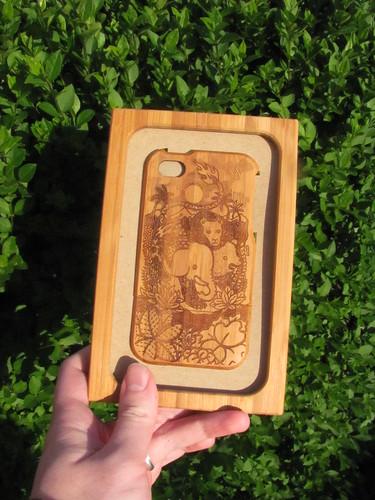 Grovemade bamboo case