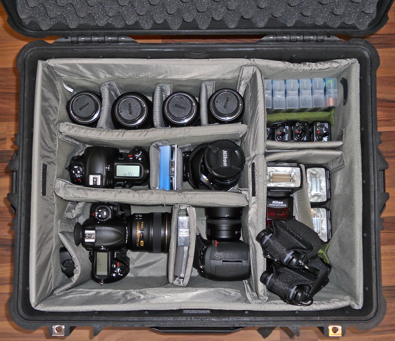 What's in my Pelicase 1620