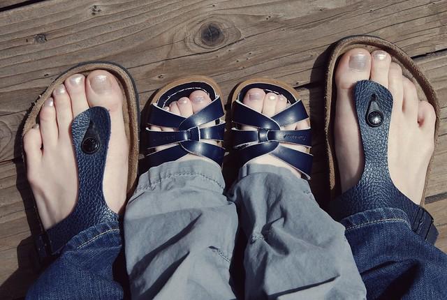 sprinkle toes