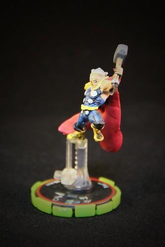 Marvel HeroClix Clobberin Time #63 Thor - Veteran