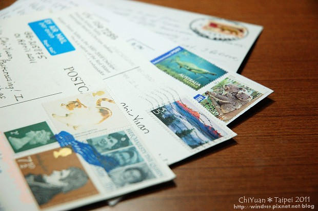 [買物] Postcrossing發想,分享挑選明信片