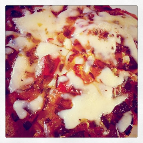 May or may not have made an awesome discovery when it comes to #GF pizza.