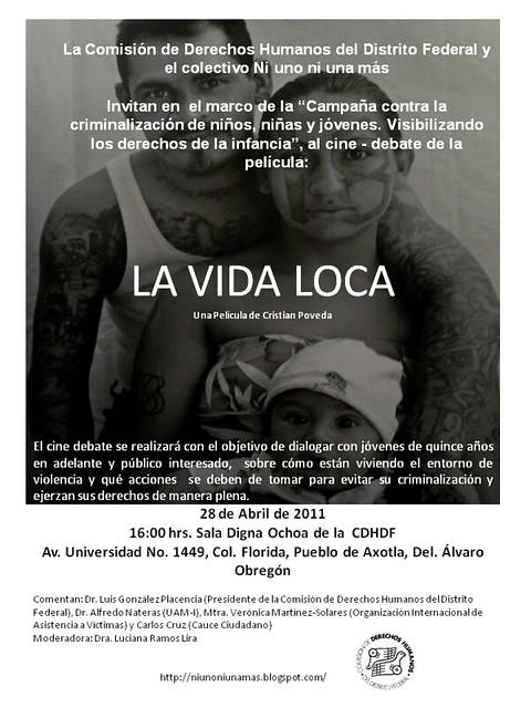 CINEDEBATE: LA VIDA LOCA