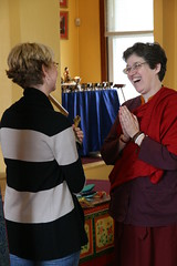 Thanking Erin Blue for her service as CKTC Director (Tanya Schroeder) Tags: unveiling thangka amitabha 41711