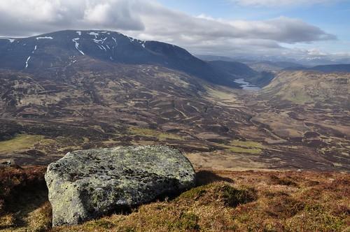 Beinn a' Ghlo and Loch Loch