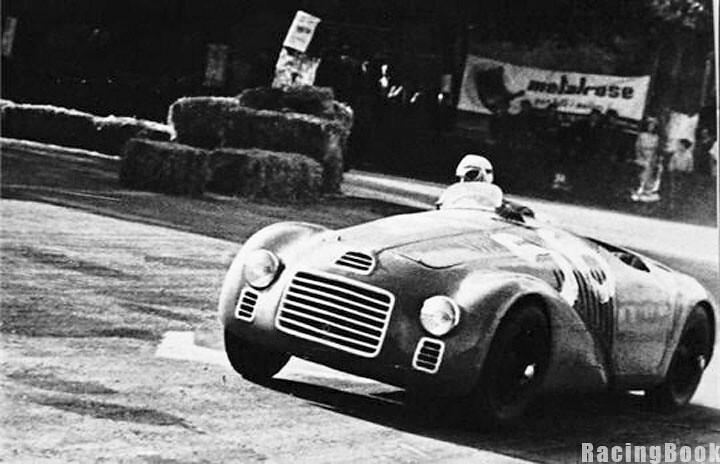 Franco Cortese_the first win for Ferrari #1947 Rome Grand Prix