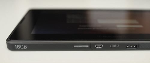 blackberry playbook bottom