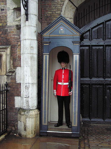 St. James's Palace Queen's Guard sentry