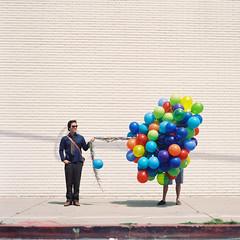 Lauren Randolph (laurenlemon) Tags: birthday 6x6 film rolleiflex mediumformat balloons 120film fairfax expired kodakportra160nc april11 ryanschude laurenrandolph laurenlemon wwwphotolaurencom joefaulstich