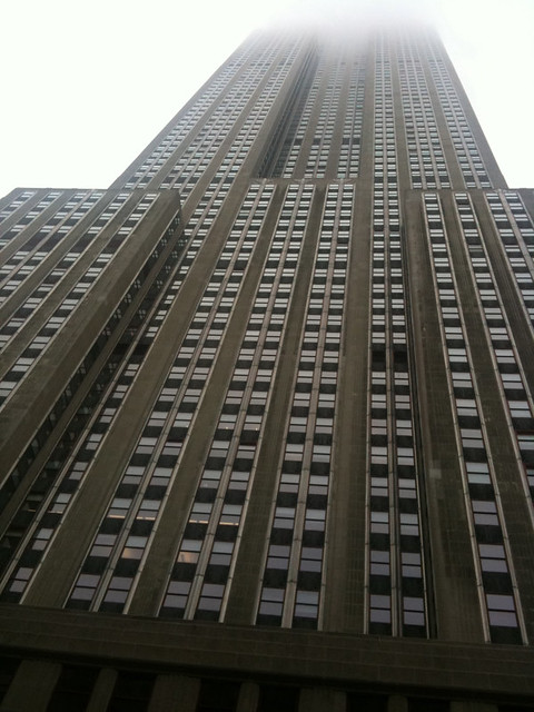 ESB straight up from 34th #walkingtoworktoday
