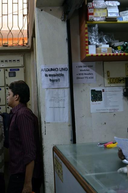 Arduino Uno at Bangalore's Electronics Market
