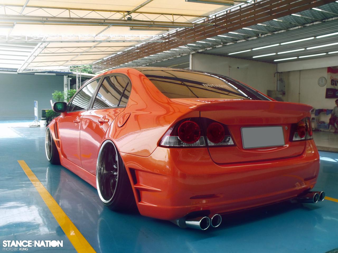 Honda Civic VIP Style // Widebody