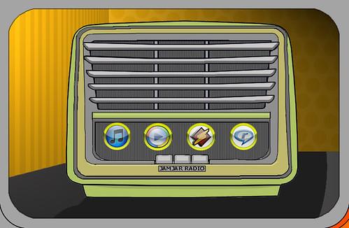 Jamjar Radio Page Illustration by thedropinn