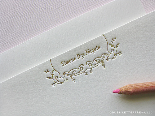 stationery for simone