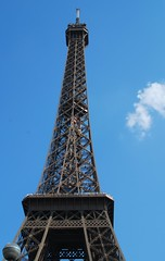 Eiffel Tower from bottom