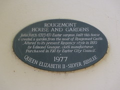 Photo of John Patch black plaque