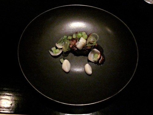 Benu - San Francisco - April 2011 - Beef Braised in Pear, Lily Bulb, Celery, Shiitake Mushroom
