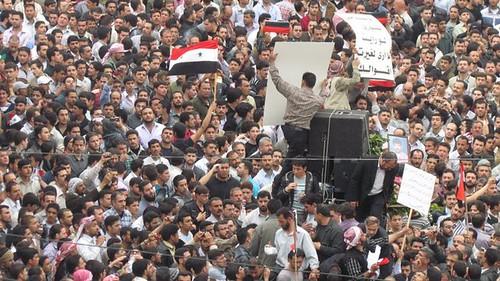 Syria Damascus Douma Protests 2011 - 26
